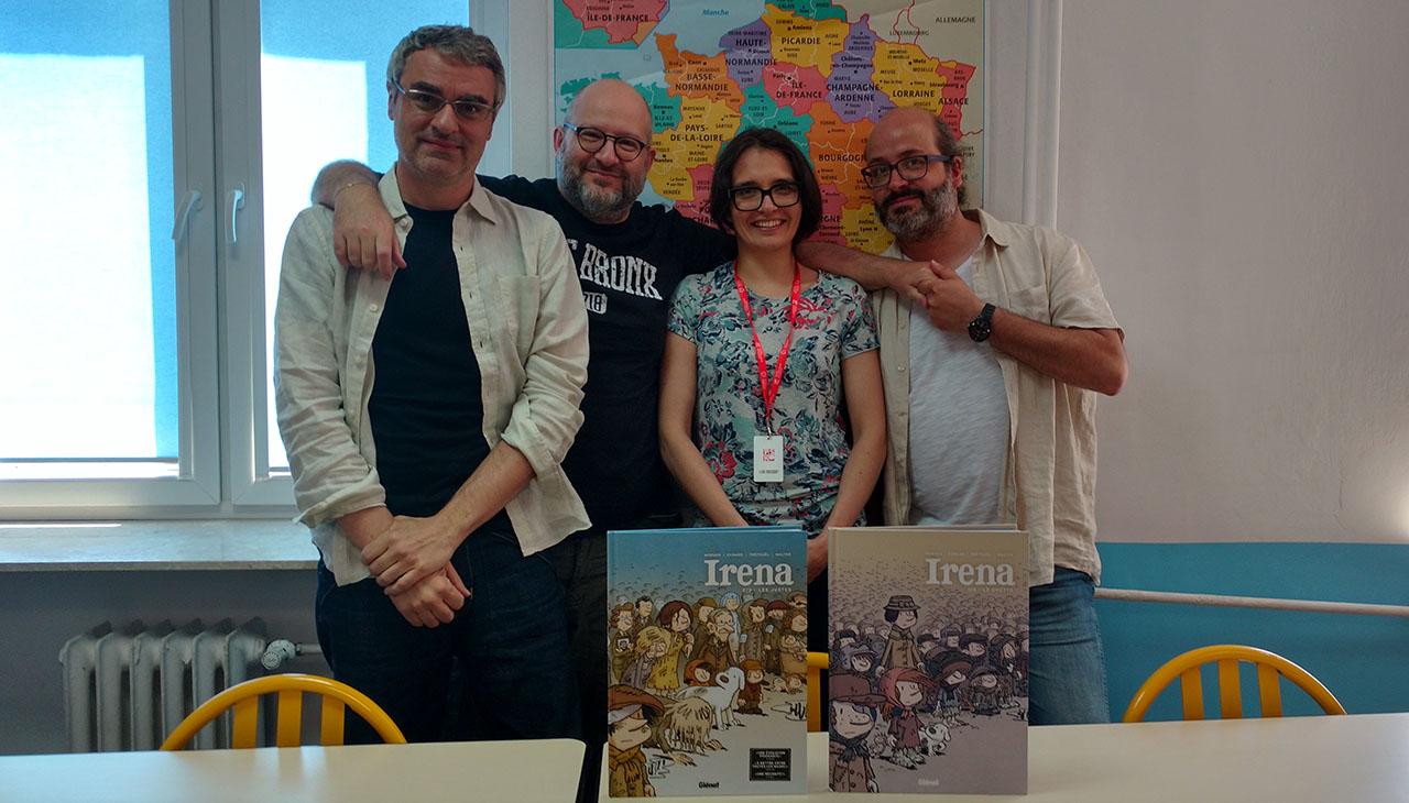 Polska bohaterka francuskiego komiksu
