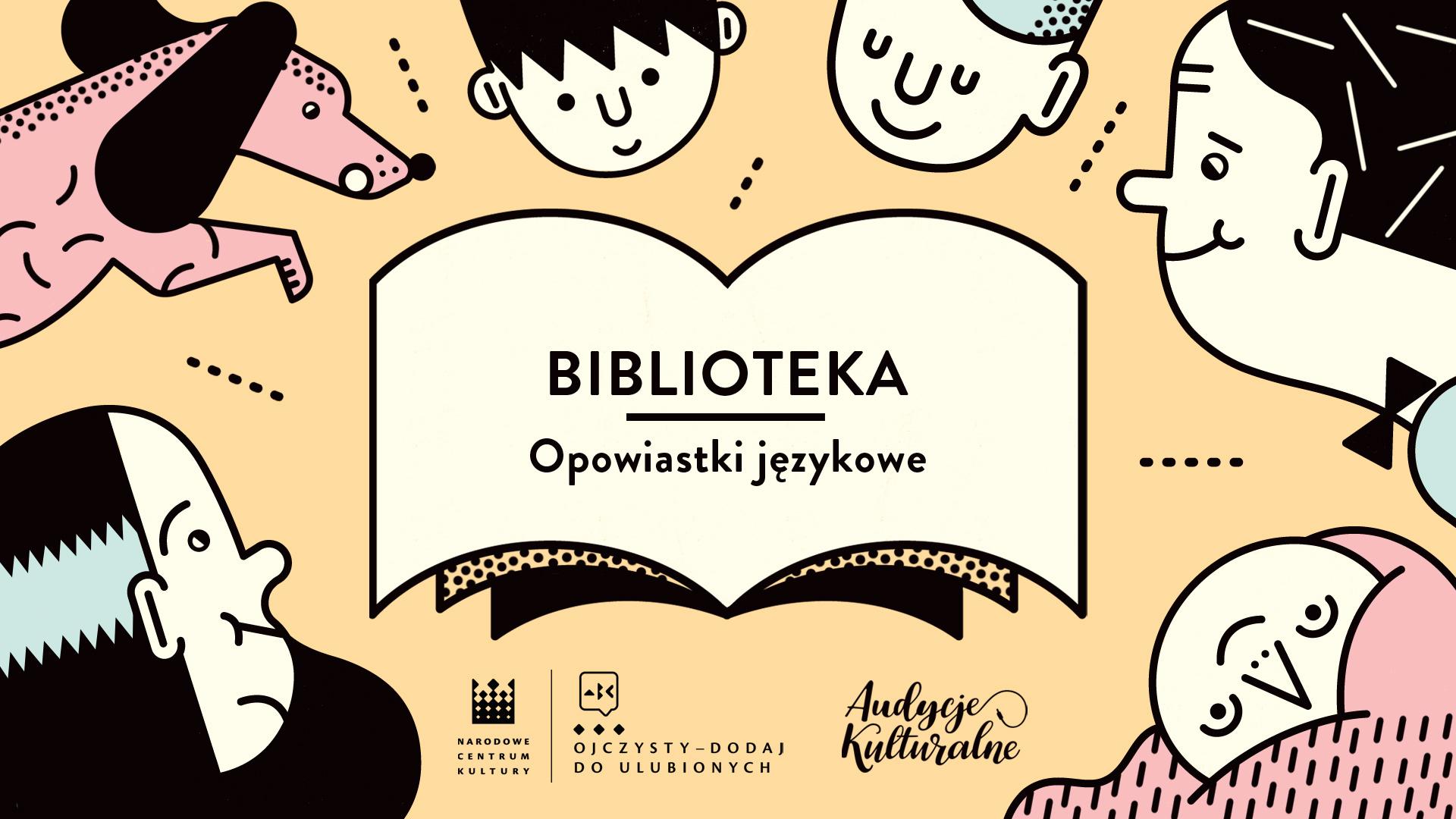 """Opowiastki językowe – odc. 2. """"Biblioteka"""""""