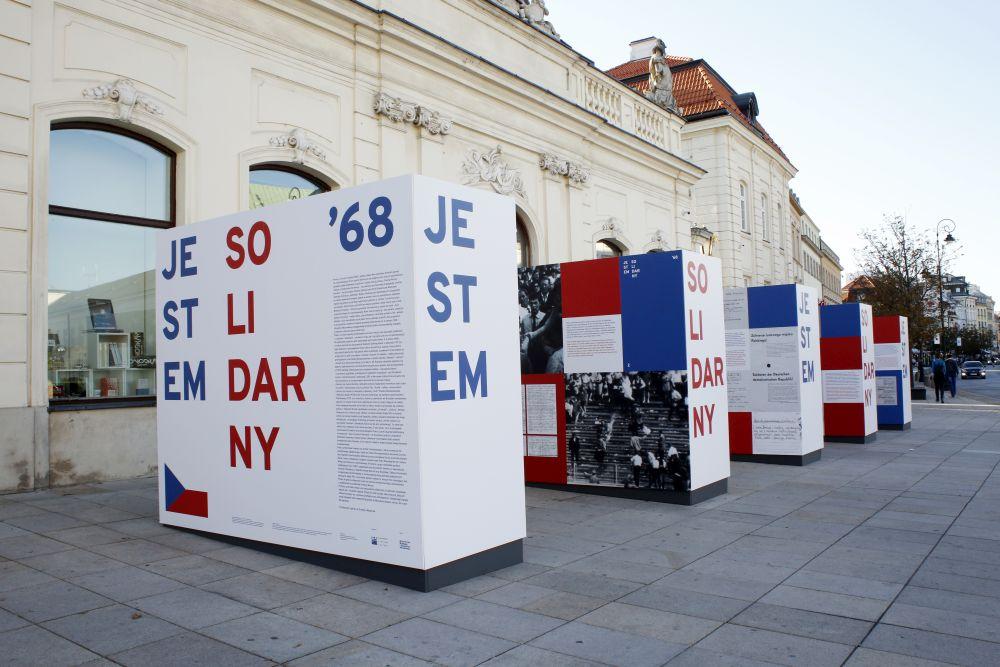 """""""Jestem solidarny"""" – wystawa w Kordegardzie"""