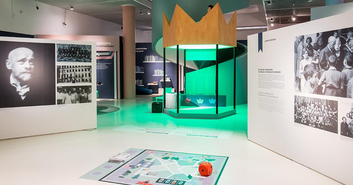 W Polsce króla Maciusia – wystawa w POLIN