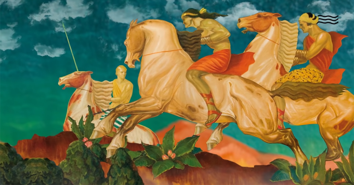 Film animowany na podstawie malowideł Stefana Norblina
