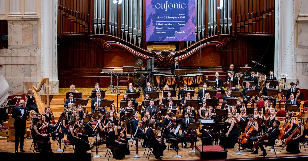 I, CULTURE Orchestra w Filharmonii Narodowej w Warszawie