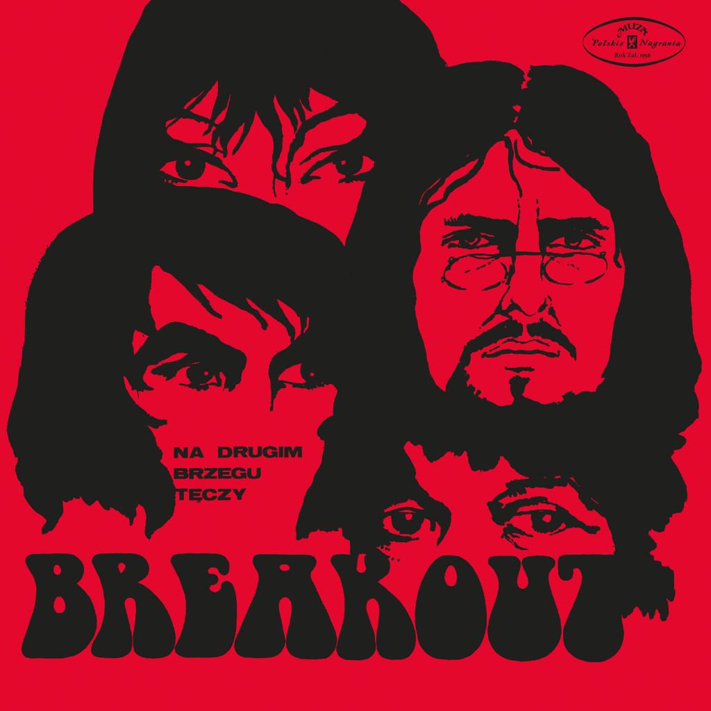 Okładka albumu przedstawia trzy narysowane twarze na czerwonym tle. Pod spodem znajduje się napis Breakout.