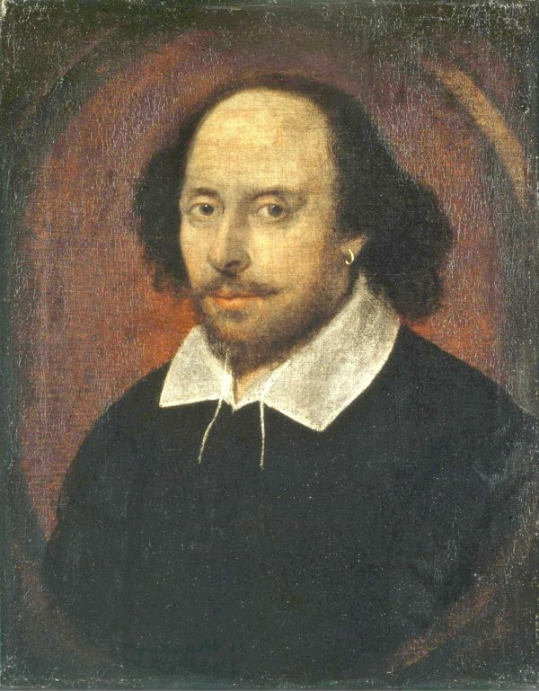 Portret Williama Shakespeare.