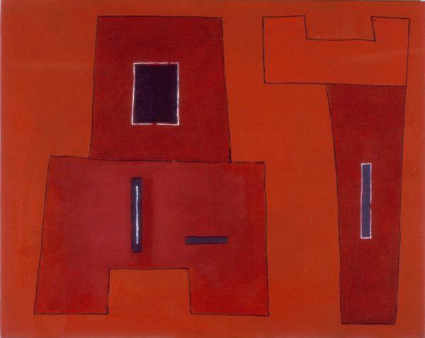 Obraz przedstawia prostokątne kształty.