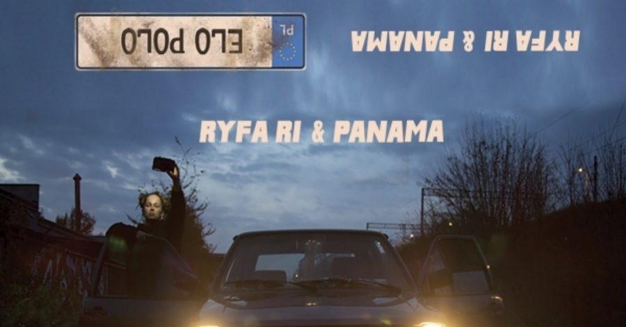 Okładka albumu przedstawia kobietę opartą o drzwi samochodu, który stoi na środku drogi.